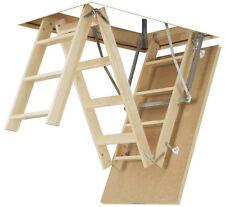 70x94 FAKRO LWS SMART WOODEN LOFT LADDER Attic stairs 4-SEC)