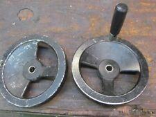 "(2)  8"" Aluminum Hand Wheels             I-636"