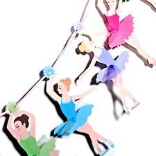 Ballerina Theme Party Decoration Garland Banner (10 Ballerina Figure & Ribbon)