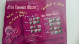 """Adult """"THE LOTTO GAME FOR LOVERS"""" - A Game Where Everyone Wins!"""