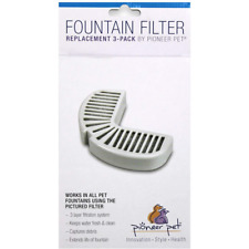 New listing Pioneer Pet Replacement Filters for Ceramic & Stainless Steel Fountain 3 filters