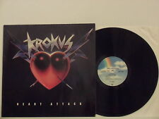 KROKUS disco LP 33 giri HEART ATTACK 1988 made in GERMANY PROMOTIONAL COPY
