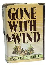 Gone with the Wind ~ First Edition ~ Margaret Mitchell ~ May 1936 ~ 1st Printing
