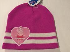 NWT- GIRLS PEPPA PIG HAT