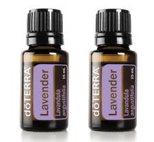 doTERRA Lavender 15mlx2 Certificate Therapeutic Grade Essential Aromatherapy