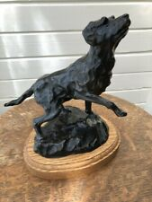 Sherry Sander Bronze Leaping Lab