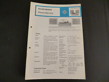 Original Service Manual Telefunken Musikus 5090 de Luxe