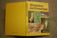 Fachbuch Kleintiere im Terrarium, Spinnen, Skorpione, Heuschrecken, DDR 1989