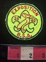 Vtg 1962 EXPOSITION USA ~ BSA Boy Scout Patch 72B7