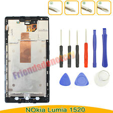 LCD Digitizer Display Touch Screen Assembly for Nokia Lumia 1520+Frame with Tool