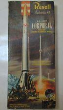 Vintage 1958 Revell U.S.Army Corporal Firestone Missile Model Kit H-1820