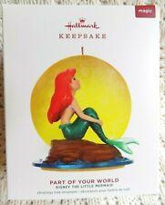 Hallmark Disney The Little Mermaid Part of Your World Magic Xmas Ornament 2019