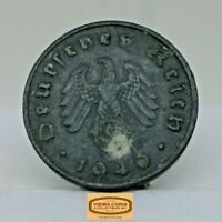 1940-A Germany 10 Pfenning, Free Shipping - #C17012