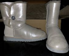 UGG boots size 9 Bailey I Do White