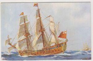 Shipping postcard - HMS Prince, sometimes called Royal Prince (A224)