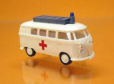 "Wiking 032003 Volkswagen VW T1 Bus mit Dachaufbau "" DRK """