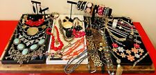 Statement Color Boho Jewelry Designer Lot Eclectic Stones Estate Dramatic Mixed