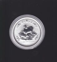 2003 50 Cent SILVER Goat Half 1/2 ounce Lunar Year Coin Australia Perth Mint