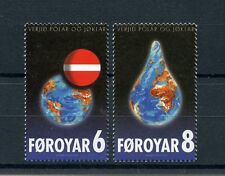 Faroe Islands 2009 MNH Preserve Poles & Glaciers Global Warming 2v Set Stamps