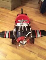 Vintage Shark Pedal Plane, Excellent Condition ,sold As Is ,no Refunds Or...