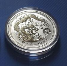 Lunar II Drache (Dragon privy) 2012 Silber 1 Unze Australien 1 Oz Silver