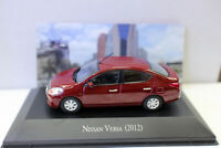 1/43 Scale Diecast Model Car Nissan Versa 2012