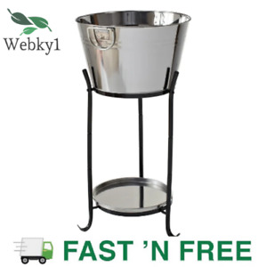 Marquee 20L Stainless Steel Drinks and Wine Cooler With Stand Ideal for Parties