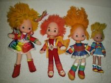 Vintage Rainbow Brite Red Butler Dolls 10 Inches Lot Of 4