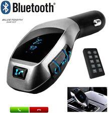 Manos libres bluetooth para coche universal samsung iphone fm USB Micro SD MP3
