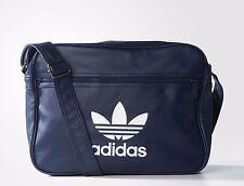 Adidas Originals Classic Airliner Shoulder Messenger Bag Black -- AY7857