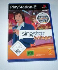 Singstar Schlager für PS2 und PS3 (Sony PlayStation 2, 2008, DVD-Box)