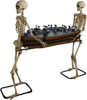 Skeletons Carrying Coffin Lifesize Candy or Iced Beverage Holder Halloween