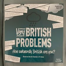 Very British Problems Card Game -NEW Sealed