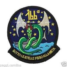 Patch A143 166 esima Squadriglia 88° Gruppo ANTISOM Sigonella Toppa con velcro