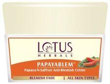 Lotus Herbals Papayablem Papaya-n-Saffron Anti-Blemish Cream, 50 gm. All Skin
