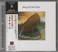 Sting The Soul Cages Cd Album Import Japon POCM-2088