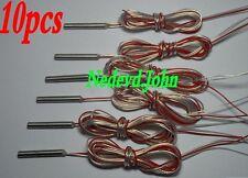 10pcs RTD PT100 platinum resistance temperature sensor precision three-wire 4*30