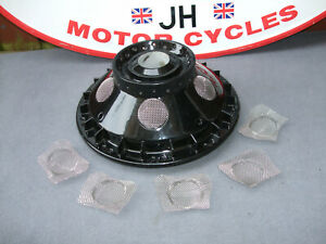 """z """"MANX"""" look, Cafe Racer FRONT Conical hub SS steel wire mesh/grilles €FF JLY21"""