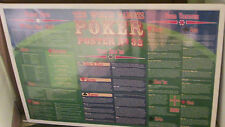 POKER POSTER OOP COLLEGE DRINKING GAMES ALCOHOL 32 CASINO TEXAS HOLD EM