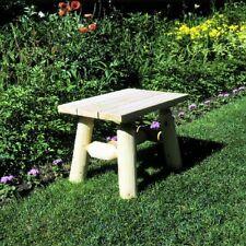 Lakeland Mills Cedar Log End Table Natural patio