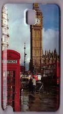 Samsung Galaxy Note 3 Cover Custodia Rigida Big Ben Cabina Telefonica London