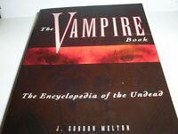 """The Vampire Book : The Encyclopedia Of The Undead"" SUPERNATURAL & **VAMPIRES**"