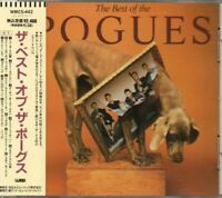 The Pogues - The Best Of The Pogues JAPAN CD with OBI WMC5-442