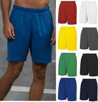 AWDis Cool Mesh Lined Men's SHORTS - Wickable Fabric - UPF 30+ UV protection
