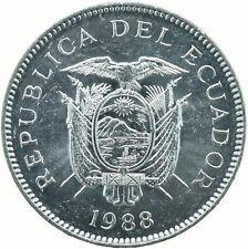COIN / ECUADOR / 5 SUCRES 1988   UNC    #WT18179