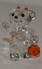 SWAROVSKI Crystal Figurine HALLOWEEN KRIS BEAR Limited Edition 2011 RARE NEW