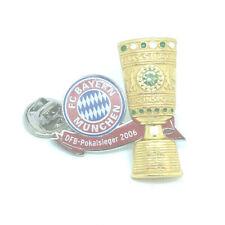 FC Bayern München Pin Anstecker Fussball DFB Pokalsieger 2006 #534
