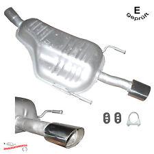 Auspuff Endtopf Opel Astra H Kombi (L35) 1.9CDTi mit Anbausatz E-Prüfzeichen