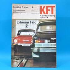 DDR KfT Kraftfahrzeugtechnik 3/1970 DKW RT 159 Skoda S 100 Hercules K 50 RX 42