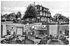 """AK, Burscheid Dünweg, Restaurant """"Zum Bergischen Hof"""", drei Abb., 1964"""